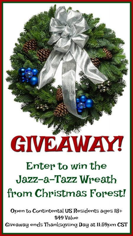 Jazz-a-Tazz Wreath Giveaway