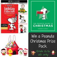 Peanuts Christmas Prize Pack Giveaway