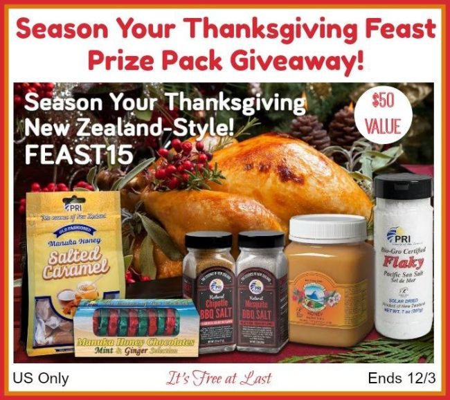 Season Your Thanksgiving Feast Prize Pack Giveaway