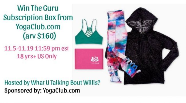 Win The Guru Subscription Box from YogaClub.com
