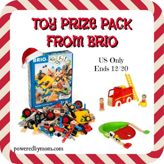 BRIO Toys Prize Pack giveaway