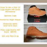 Lugz Zeolite MID Boots Giveaway