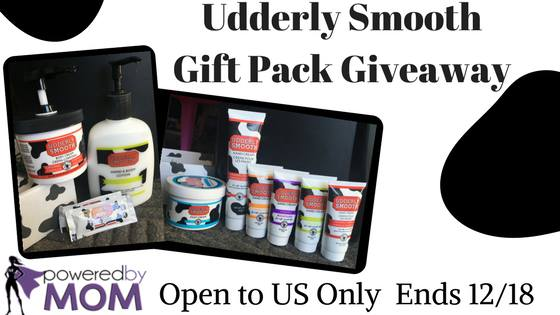 Udderly Smooth Gift Pack Giveaway
