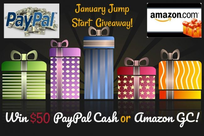 $50 Amazon Gift Card or PayPal Cash Giveaway