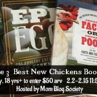3 Best New Chickens Books for 2018 Giveaway
