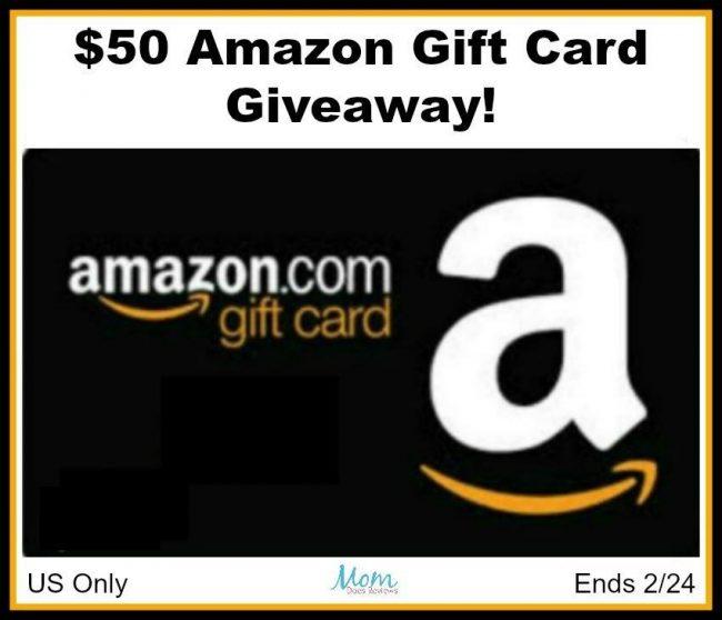 $50 Amazon GC Giveaway