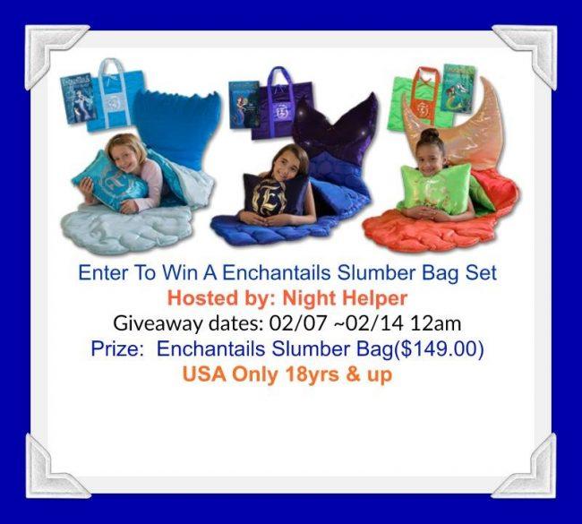 Enchantail Slumber Bag Set Giveaway