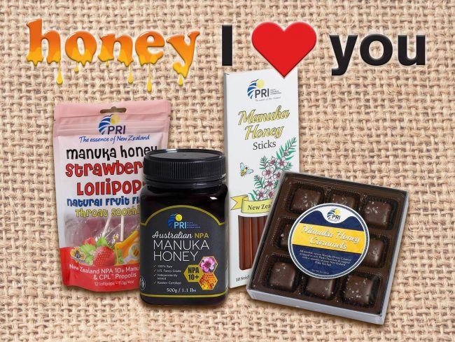 PRI Manuka Honey Valentine's Prize Pack