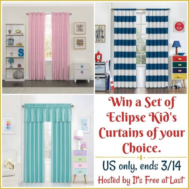 Eclipse kid's curtains