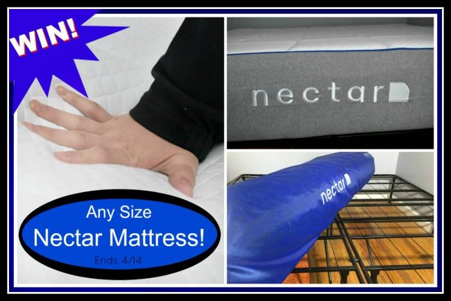 Nectar Sleep Mattress Giveaway