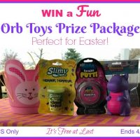 Orb Toys Prize Package Giveaway #Easter2018