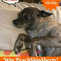 PeachSkinSheets Giveaway #GiftsforMom18