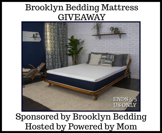 Brooklyn Bedding Mattress Giveaway - Winners choice of size