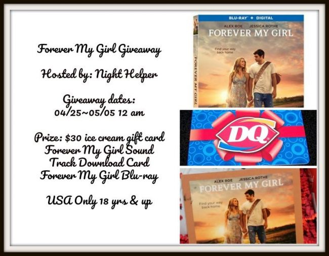 Forever My Girl Package #Giveaway