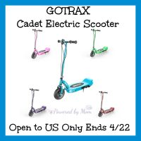 Gotrax Glider Cadet Electric Scooter Giveaway