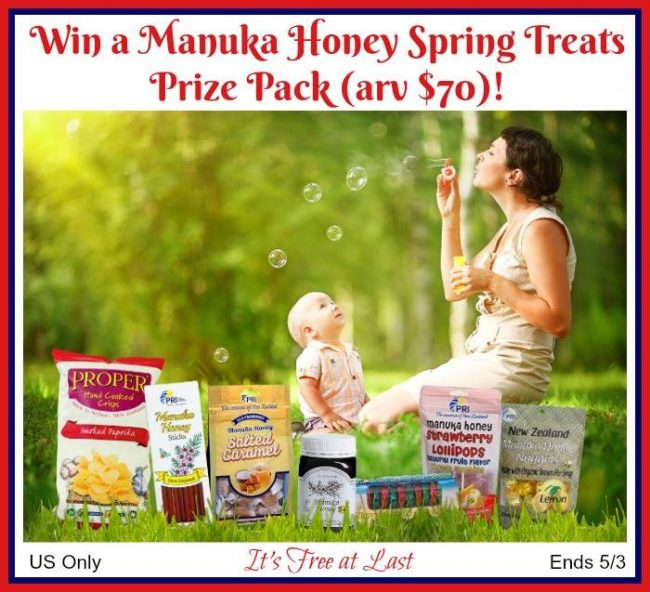 Manuka Honey Treats Prize Pack Giveaway