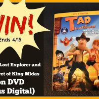 Tad the Lost Explorer and the Secret of King Midas Giveaway