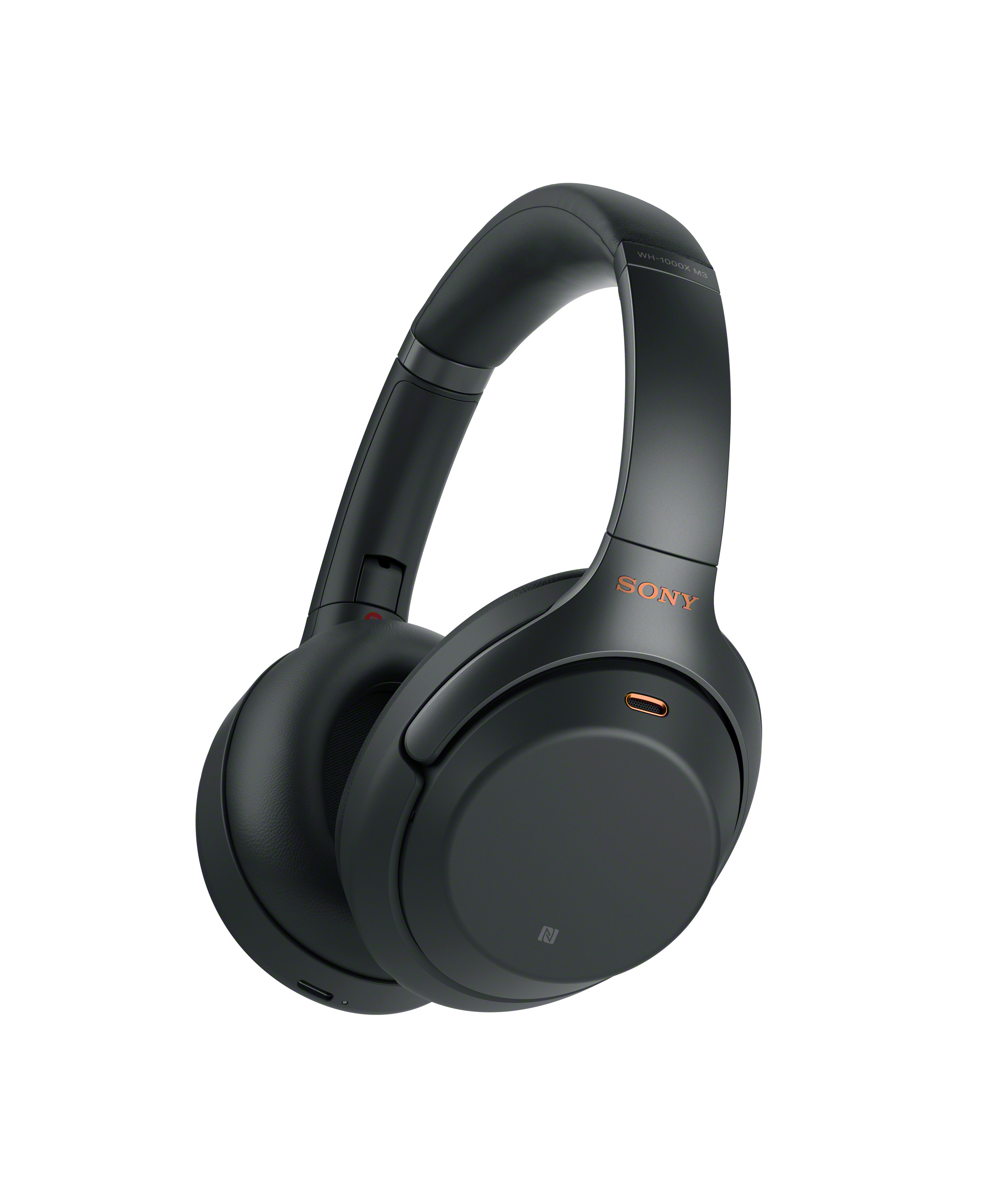 NEW Sony's Industry Leading Noise Canceling WH-1000XM3 Headphones- black