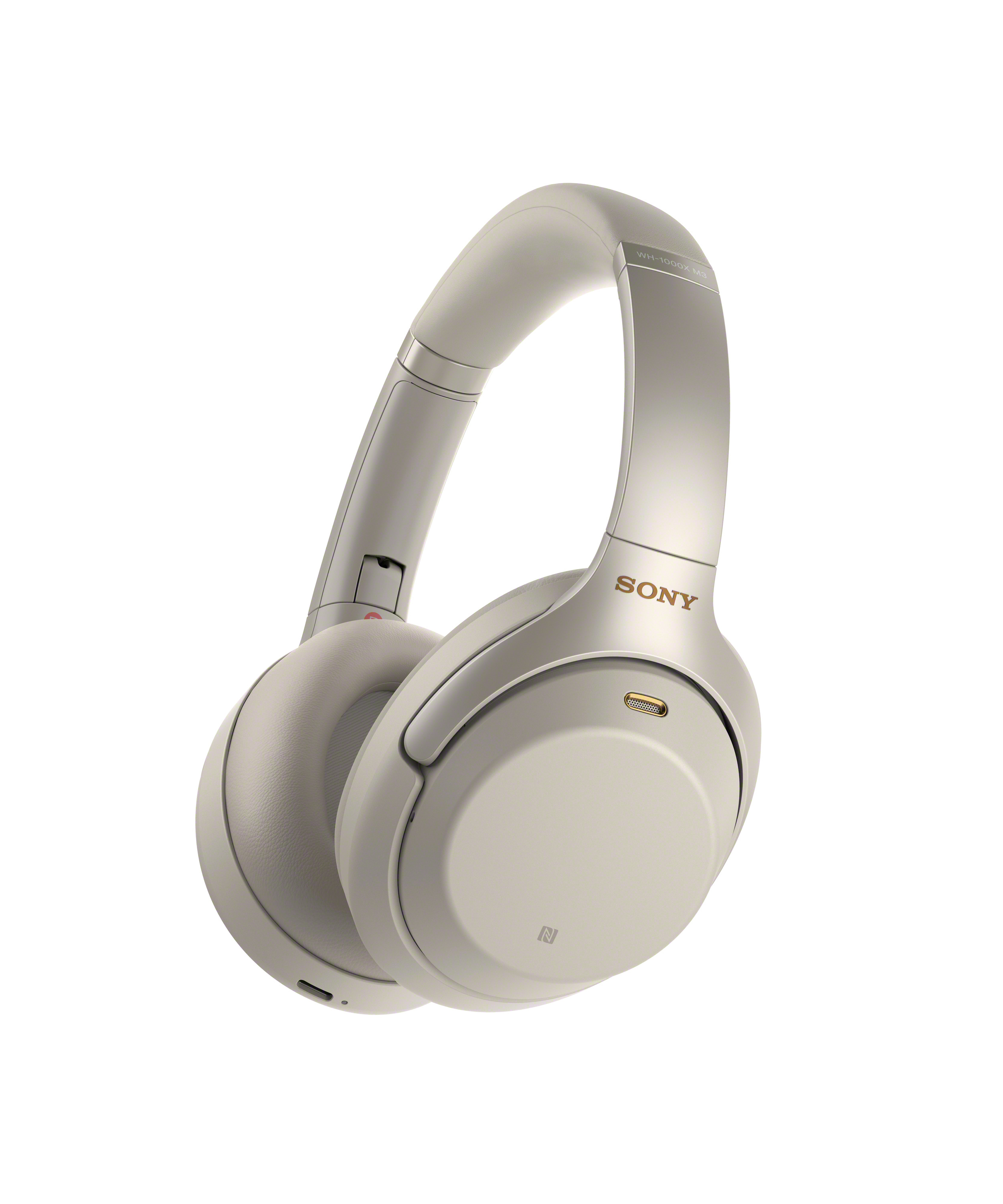 NEW Sony's Industry Leading Noise Canceling WH-1000XM3 Headphones - silver