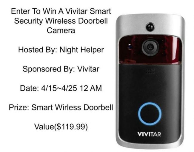 Vivitar Smart Wireless Doorbell