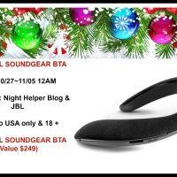 JBL SoundGear BTA Giveaway @JBLaudio