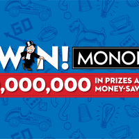 Shop, Play, Win! Monopoly at Albertson Stores; Online - Twitter Party & Giveaway #GoShopPlayWin