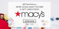 Back To School with Macy's Giveaway #BTSWITHMACYS