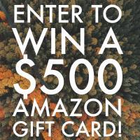 $500 Amazon Gift Card Giveaway - Open Worldwide