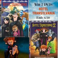 2 HOTEL TRANSYLVANIA DVD Giveaway
