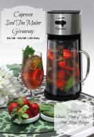 Capresso Iced Tea Maker Giveaway