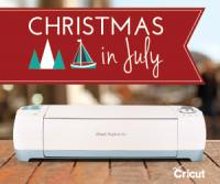 Cricut's Christmas In July thru 7/19 - Stock up Now for Savings