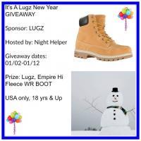 Lugz Empire Hi Fleece WR Boot Giveaway