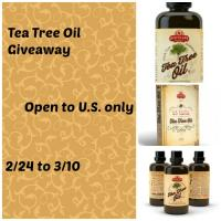 Apothecary Extracts Tea Tree Oil Giveaway