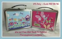 I See Me Personalized Lunchbox Giveaway - US only