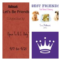 """Hallmark """"Let's Be Friends"""" Prize Pack Giveaway US Only"""