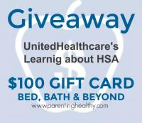 $100 Bed, Bath & Beyond Gift Card Giveaway